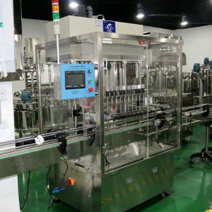 Full Automatic Filling Machine Water Oil Filling and Labeling Machine pictures & photos