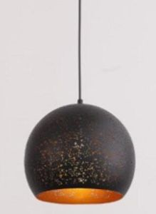 Black Carved Metal Shade Pendant Hanging Lamp (P-170414) pictures & photos