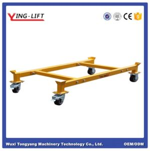 Oil Drum Bracket Dolly with Brake Function pictures & photos