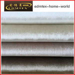 100% Polyester Velvet Fabric for Sofa/Curtain EDM-F16g10 pictures & photos