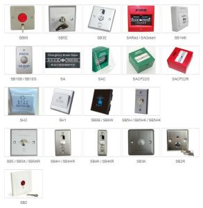 Infrared Induction Access Control Exit Button with Base (SB8-Rct) pictures & photos
