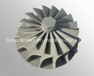 Ts16949 Certificates Inconel 713/718/625/600 Vacuum Casting Turbocharger Spare Impeller Parts Casting Turbo Impellers Casting pictures & photos