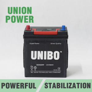 Auto Battery Ns40z Mf JIS 12V36ah High Quality Car Battery pictures & photos