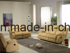 Reclining Living Room Sofa with Footrest (Ya-601) pictures & photos