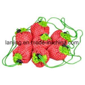 Bw1-080 Nylon/Polyester Reusable Strawberry Foldable Bag Gift Shopping Bags pictures & photos
