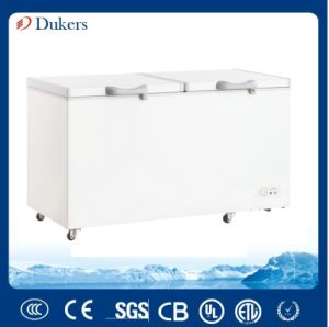 Double Doors Chest Freezer with 520 Liter Bd/Bg-520