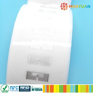 Thermal Transfer printing 860-960MHz E53 Impinj MONZA 5 UHF Label for asset tracking pictures & photos