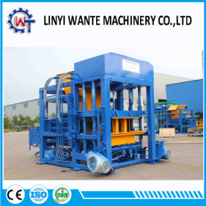 Qt4-18 Brick Moulding Machine Plans for Concrete Blocks pictures & photos