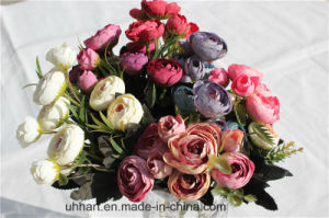 Cheapest Wholesale Artificial Rose Flower for Decor pictures & photos