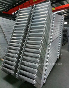 Scaffold Aluminum Stairways Scaffolding Stairs with Hook pictures & photos