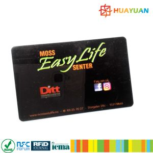 Customized logo Printing PVC MIFARE Classic 1K RFID Smart Card pictures & photos