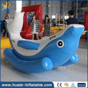 Inflatable Totter for Water Sports/Hot Selling Inflatable Water Seesaw