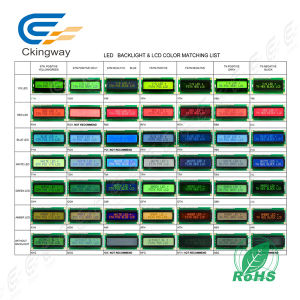 Customize Size COB 240*64 Dots Yellow-Green Backlight Display pictures & photos