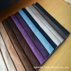 Aphrodite Woven Jacquard Velour Sofa Fabric pictures & photos
