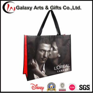 Promotional Reusable Folding Laminated Printed No-Woven Shopping Bag