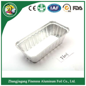 Low Price Disposable Airline Aluminum Foil Food Container pictures & photos