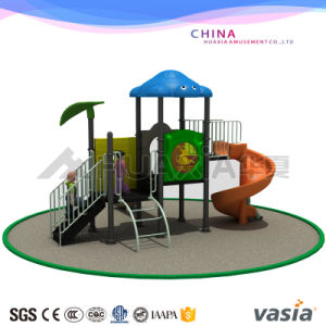 Vasia Kids Funny Plastic Slides Outdoor Playground pictures & photos