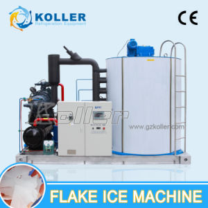 Koller Microcomputer Intelligent Control 20tpd Flake Ice Machine for Fish pictures & photos