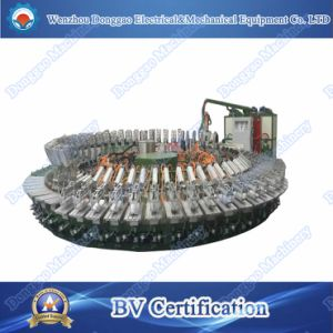 Leather Sandal Shoe PU Pouring Sole Machine pictures & photos