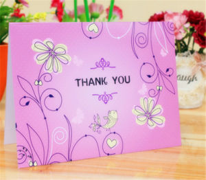 Four Colors Custom Paper Card Gift Greeting Cards Printing pictures & photos
