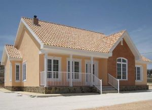 Solid Single Storey House with a Swimming Pool Prefabricated Cottage pictures & photos