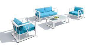 2016 Hot Sale Aluminum Frame Sofa Set Outdoor Furniture pictures & photos