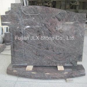 Paradiso Granite Poland Style Cross Design Headstone pictures & photos