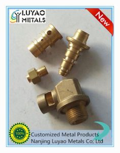 CNC Machining with Brass Material for Vlave pictures & photos
