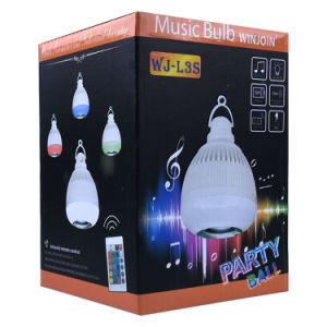 Smart LED RGB Bulb with Bluetooth Speaker for Apple and Android System Remote Control pictures & photos