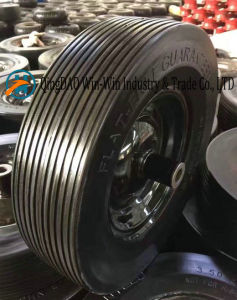 Flat-Free PU Wheel for Small Mobiity Equipments (3.50-8) pictures & photos