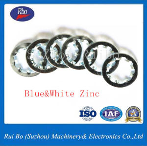 Zinc Plated DIN6797j Internal Serrated Steel Lock Spring Washer pictures & photos