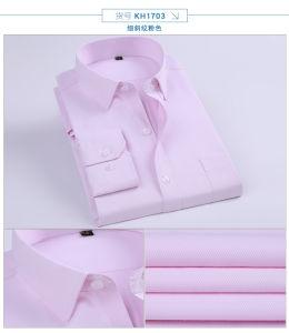 Clothes Mens Formal Long Sleeve Dress Shirt Fashion Dress Shirt pictures & photos