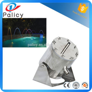 Stainless Steel Color Changeable Jumping Jet Laminar Fountain Nozzle pictures & photos