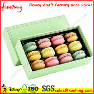Attractive Colorful Food Grade Folding Packing Box for Macarons pictures & photos