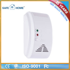Smart Wireless Home Kitchen Gas Leak Sensor Detector with Valve pictures & photos