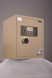 Laser Cutting Electronic Safe Box for Home and Office Use (JBG-450AJ) pictures & photos