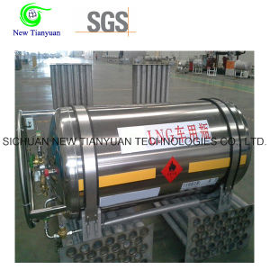 383L Large Nominal Volume LNG Cryogenic Tanker Cylinder pictures & photos