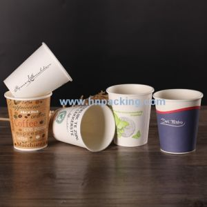 8oz Biodegradable PLA Coating Paper Cup for Hot Drinks pictures & photos