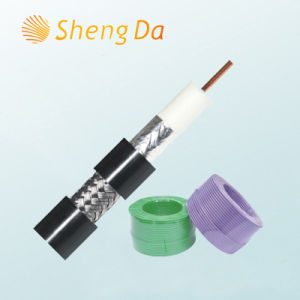 High Speed Communication Satellite Coax Cable Rg11 pictures & photos