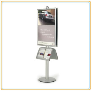 Automobile Show Poster Holder with Double Sign Rack (E06P13) pictures & photos