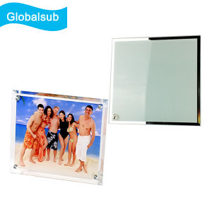 20*20cm Tempered Glass Photo Frame for Sale pictures & photos