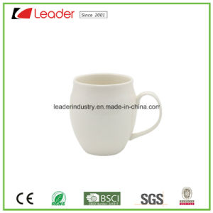 Promotional White Ceramic Beer Cup for Gift pictures & photos