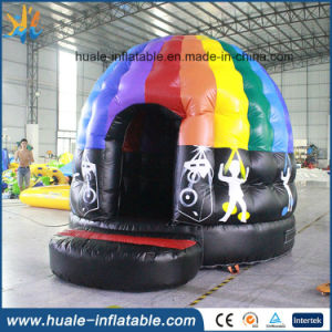 2016 Hot Sales Inflatable Disco Dome Bouncer with LED Light