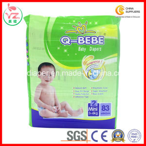 S83 Q-Bebe High Absorption Soft Breathable Disposable Baby Diaper pictures & photos
