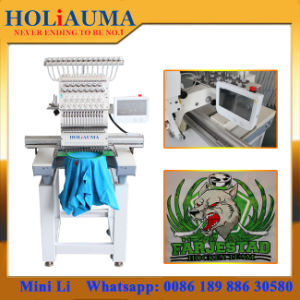 High Speed Business/Home Embroidery Machines 1 One Single Head Cap and T-Shirt pictures & photos