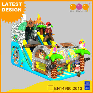Treasure Hunt Slide Inflatable House Amuseement for Kids (AQ01753) pictures & photos