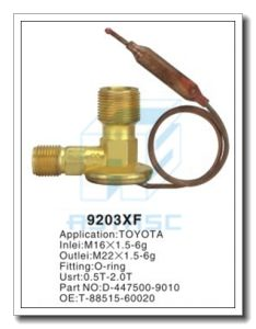 Customized Thermal Brass Expansion Valve for Auto Refrigeration MD9203xf pictures & photos