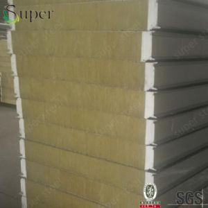 Rockwool, Rock Mineral Wool, Mineral Wool Sandwich Panel Insulation pictures & photos