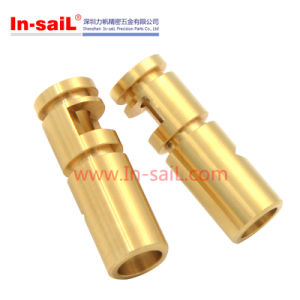 Machining High Precision Brass Turning Parts pictures & photos
