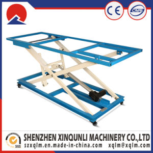 Electric Lift Table Machine with Belt for Sofa Making Factory pictures & photos